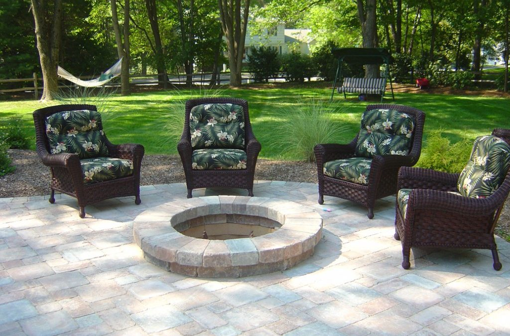 Home Decoration with Fire Pits